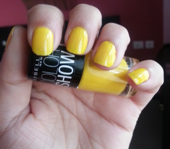 maybelline color show sweet sunshine 2