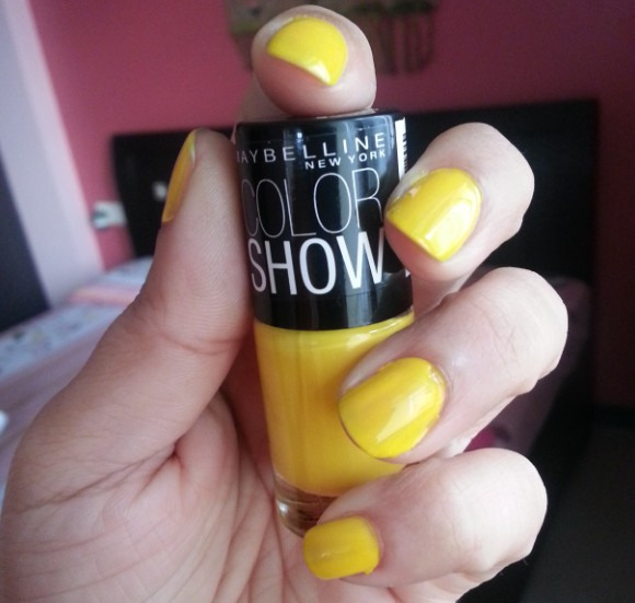 maybelline color show sweet sunshine