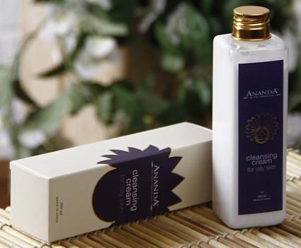 ananda cleansing cream for oily skin