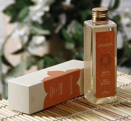 ananda spice body oil