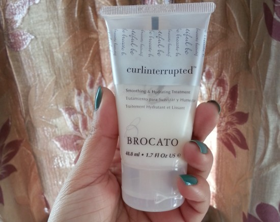 brocato curlinterrupted smoothing & hydrating treatment 3