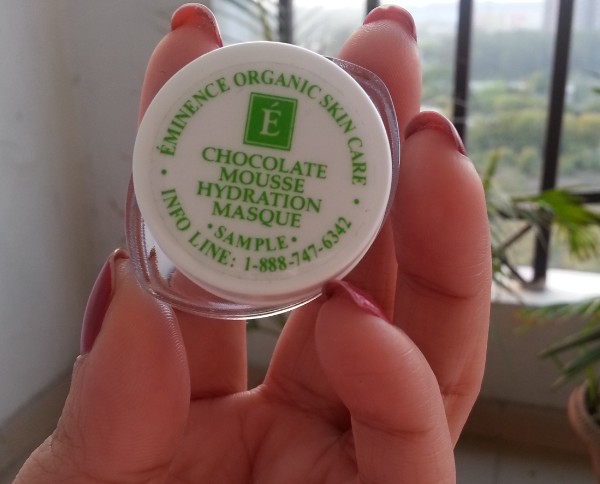 eminence organics chocolate mousse hydration masque 2