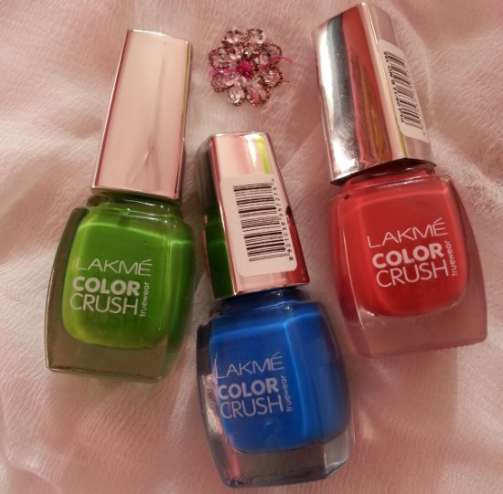 Lakme True Wear Color Crush 02 06 17 Nail Paint Review