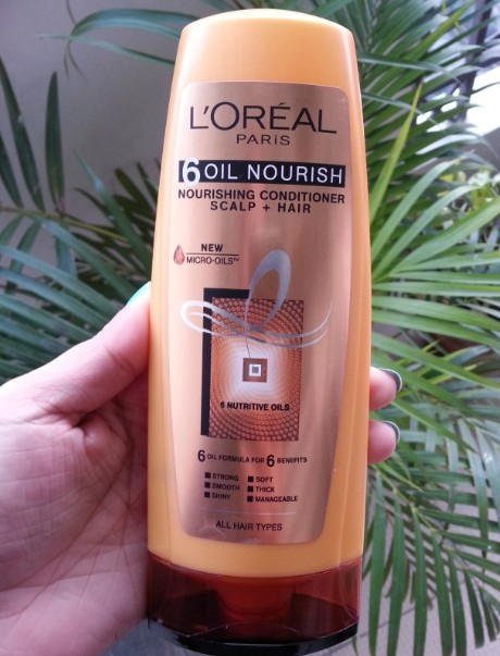 loreal 6 oil nourish conditioner