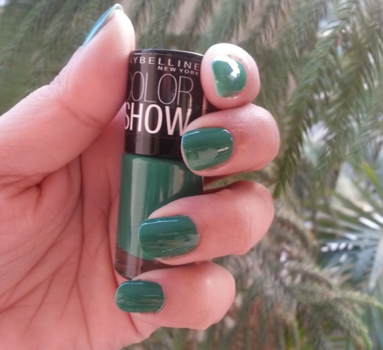 maybelline color show tenacious teal 1