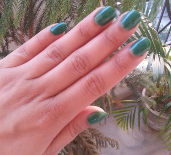 maybelline color show tenacious teal 2