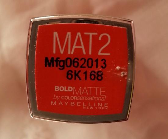 maybelline colorsensation matte bold 5