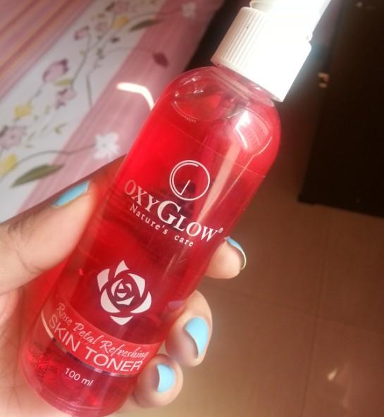 oxyglow rose toner