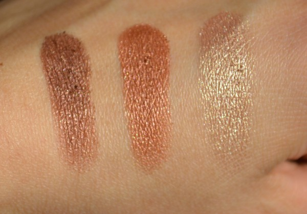 colorbar enchanting trio eyeshadow seductively nuede 3