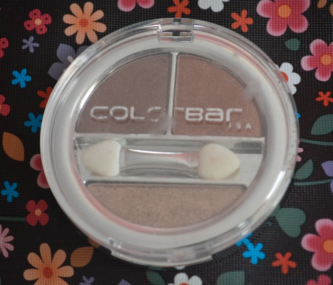 colorbar enchanting trio eyeshadow seductively nuede