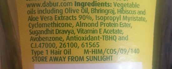 dabur vatika enriched olive hair oil 3