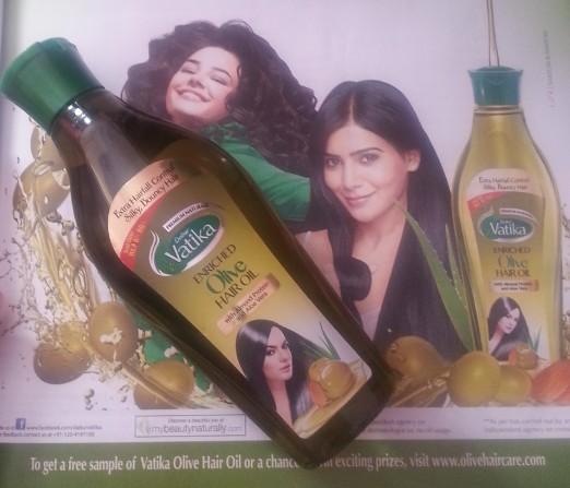 dabur vatika enriched olive hair oil