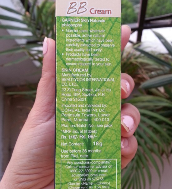 garnier bb cream miracle skin perfector review 3