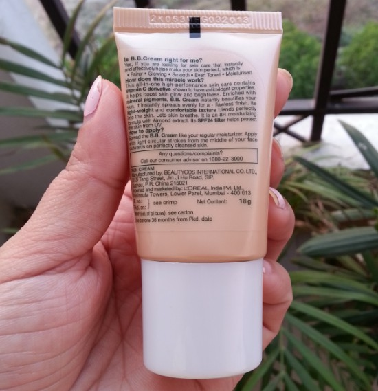 garnier bb cream miracle skin perfector review 5