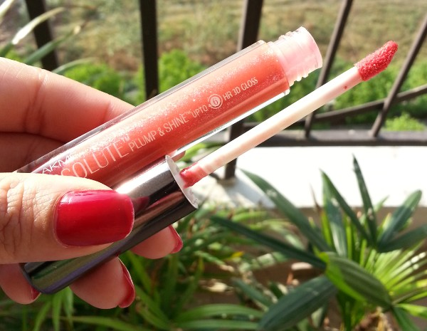 lakme absolute plump & shine 3d gloss cherry review 3