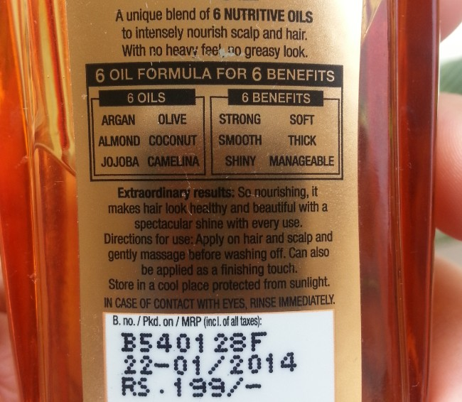 l'oreal 6 oil nourish oil review 3