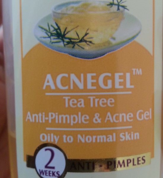 lotus herbals acnegel Tea Tree 5