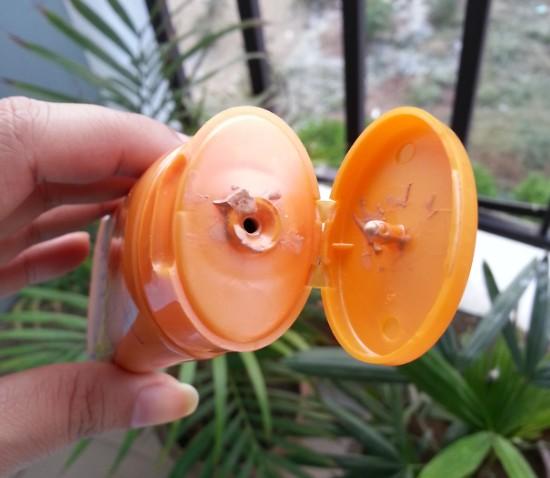 lotus herbals safe sun daily multi-function sunblock SPF70 review 1