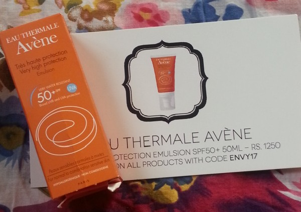my envy box march 2014 3