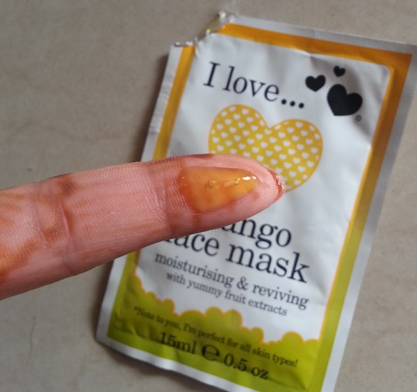 i love mango face mask review 2