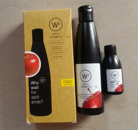 w2 (why wait) apple shampoo