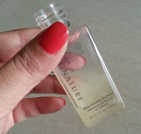 Cornelia signature  shine defining shampoo review 4
