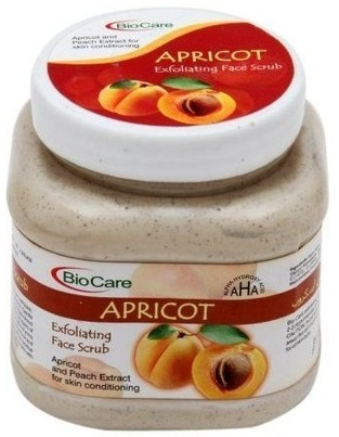 bio care apricot scrub