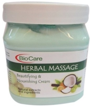 bio care herbal massage cream