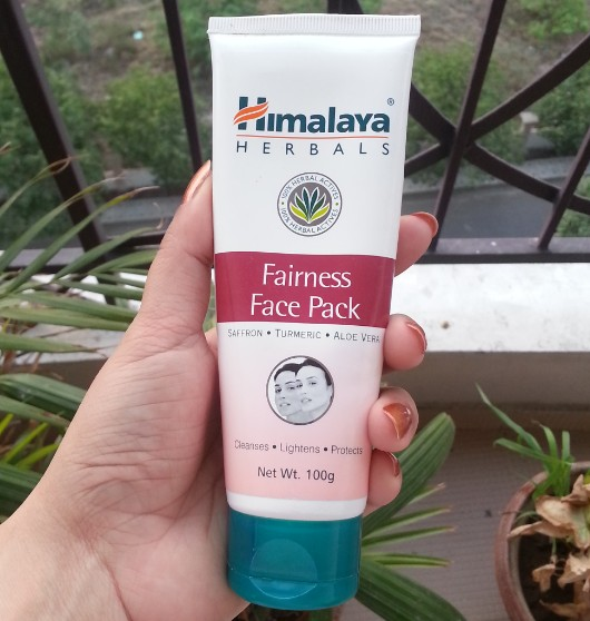 himalaya fairness face pack review
