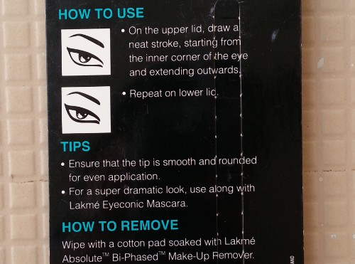 lakme eyeconic blue review 1