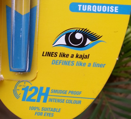 maybelline colossol kohl torquoise review 4