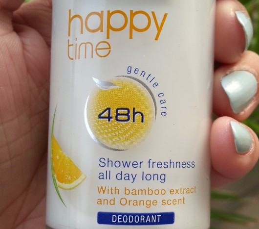 nivea happy time orll-on deo review 1