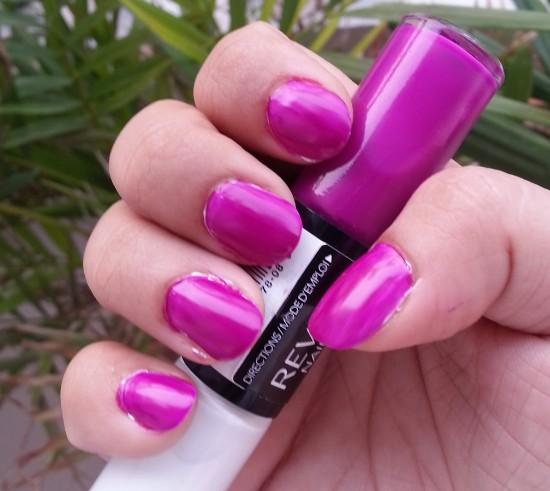 revlon nail art neon ultra violet nail enamel review 6