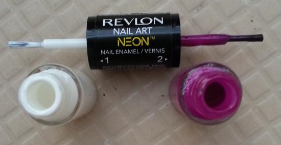 revlon nail art neon ultra violet nail enamel review 7