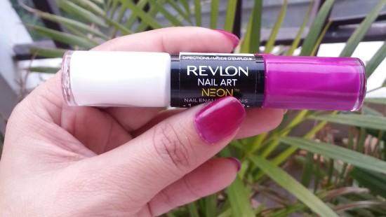 revlon nail art neon ultra violet nail enamel review