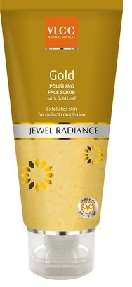 vlcc gold polishing face scrub