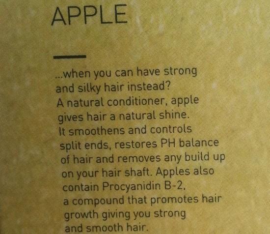 w2 (why wait) apple shampoo review 1