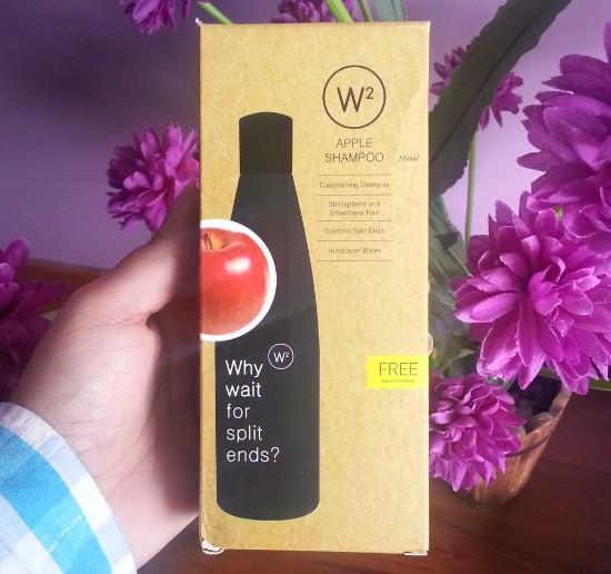 w2 (why wait) apple shampoo review