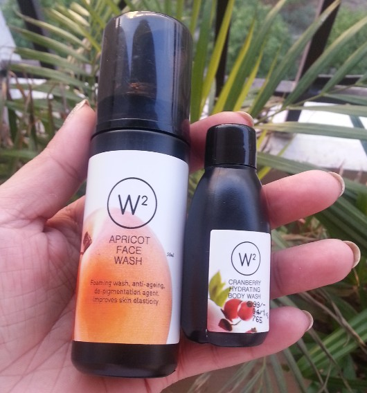 w2 (why wait) apricot face wash review 10