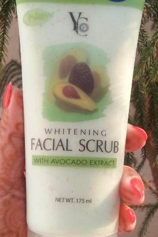 yc whitening facial scrub