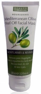 beauty formula mediterranean olive peel off mask