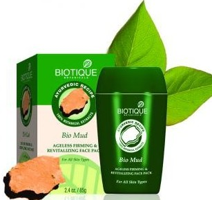 biotique bio mud ageless friming & revitalizing face pack