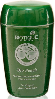 biotique bio peach peel off mask