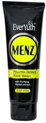 everyuth menz pollution defence face wash