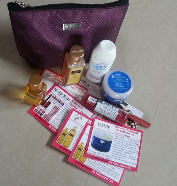 fab bag july 2014 review 2