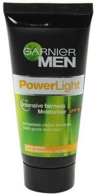 garnier men power light intensive fairness moisturizer