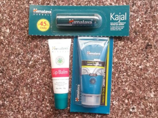 himalaya herbals skin care haul 1