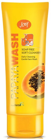 joy papaya face wash