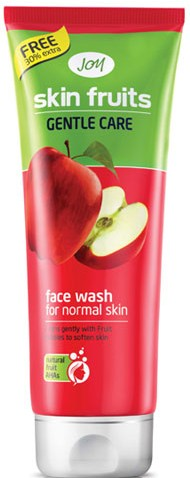 joy skin fruit gentle care face wash