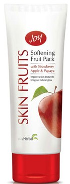 joy skin fruit softening fruit pack